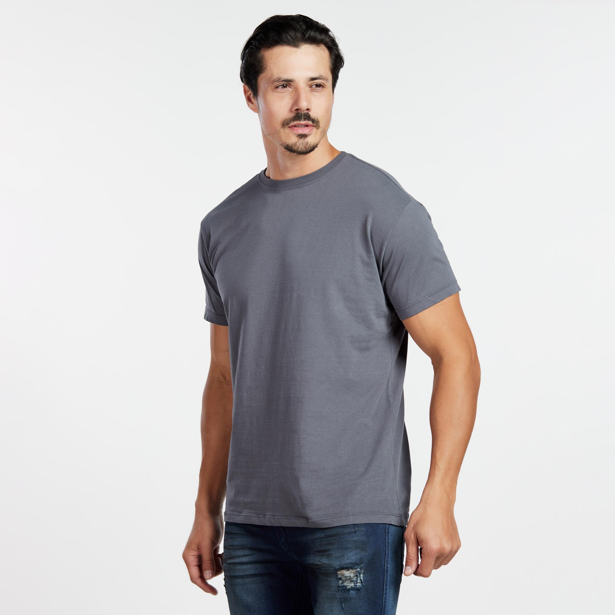 Camiseta Masculina Reativo Chumbo