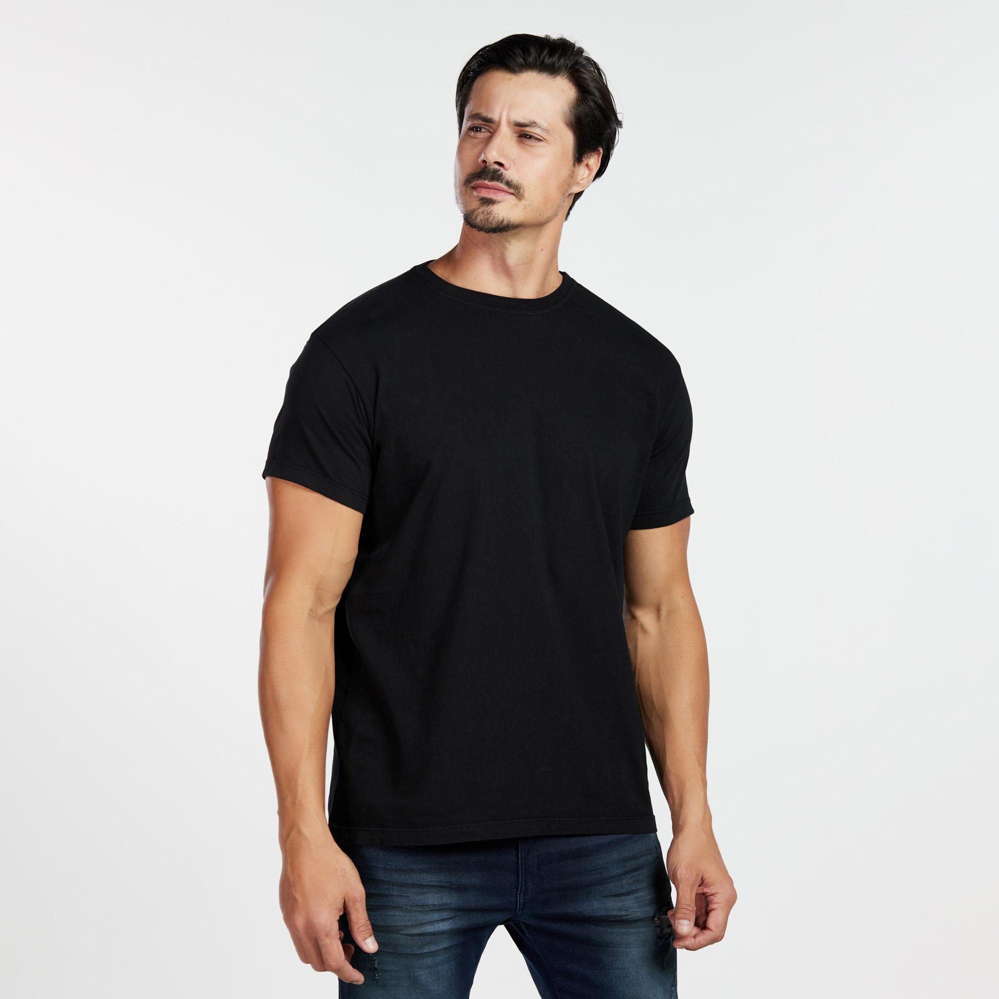 Camiseta Masculina Reativo Preta