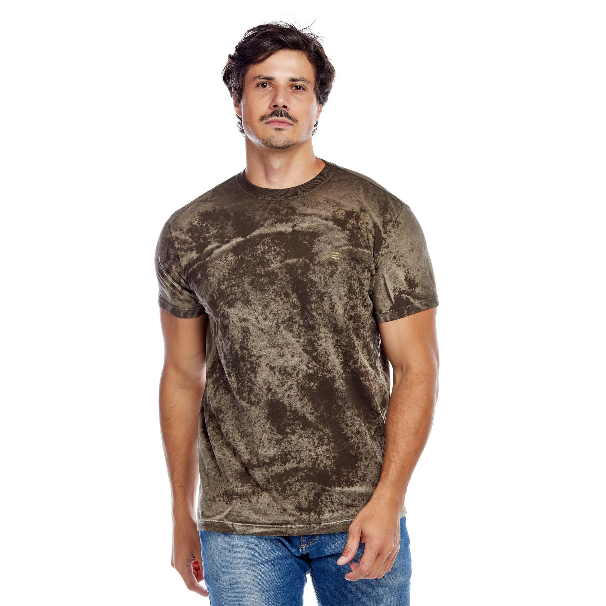 Camiseta Masculina Texturizada Evolvee