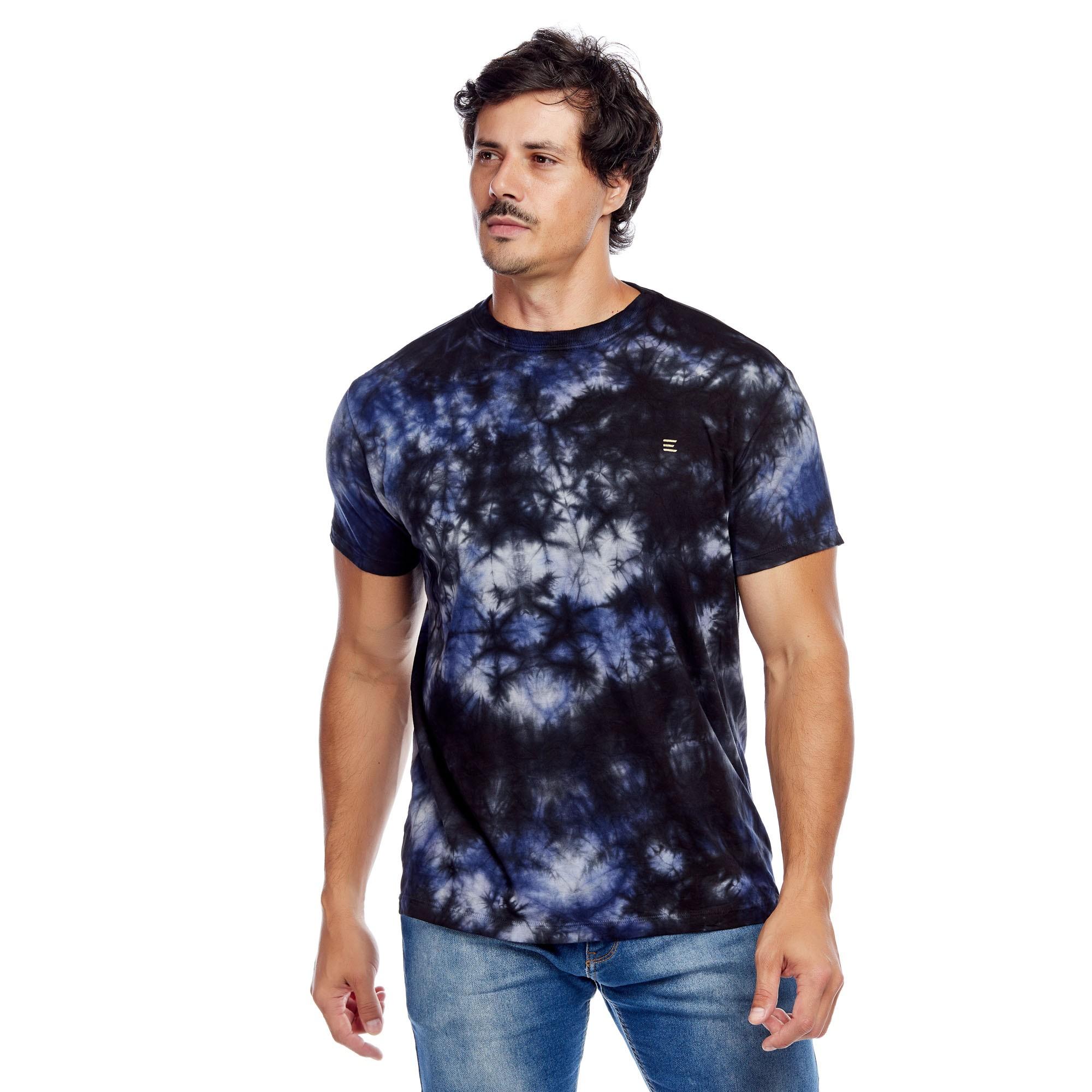 Camiseta Masculina Tie Dye Evolvee
