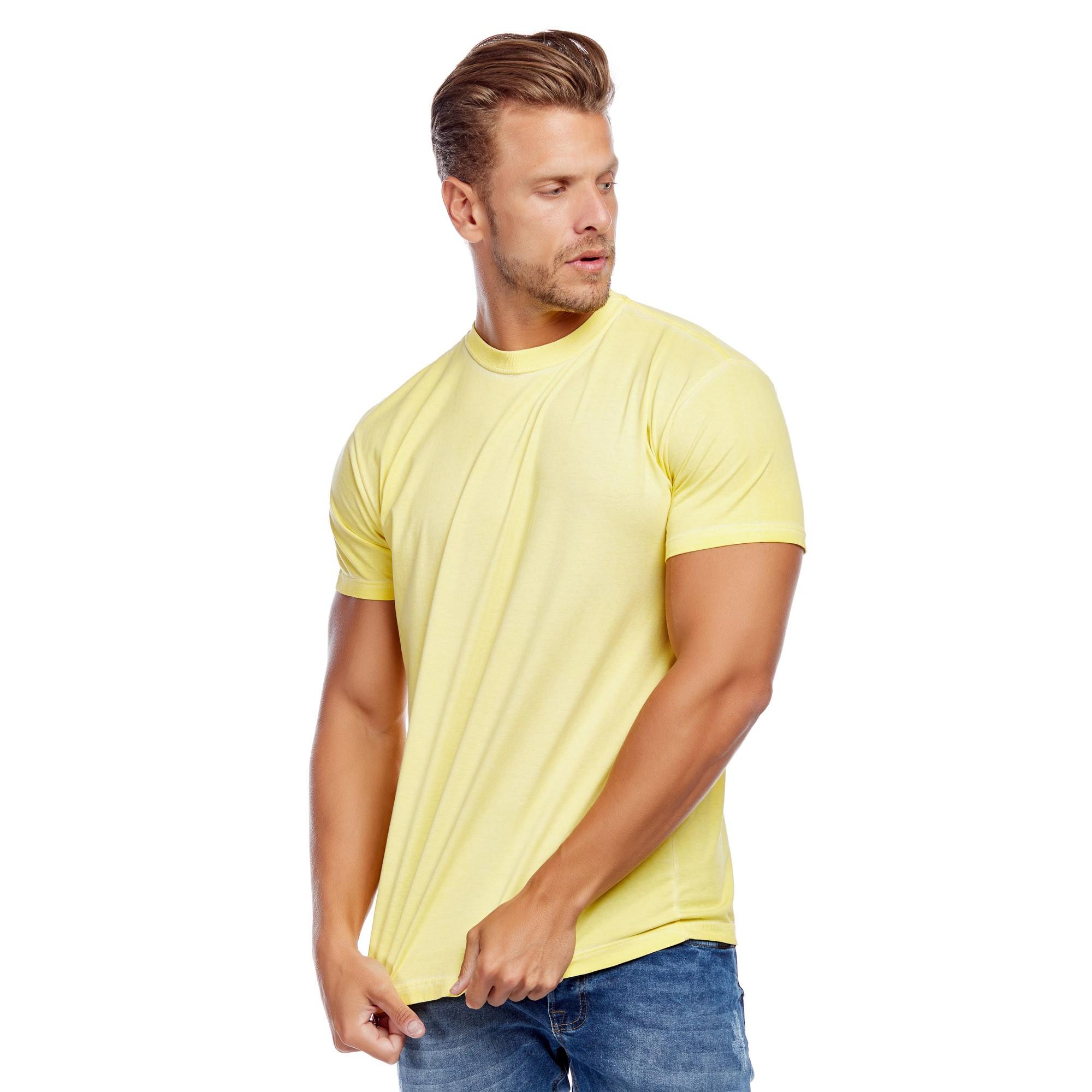 Camiseta Masculina Tingimento a Seco Evolvee