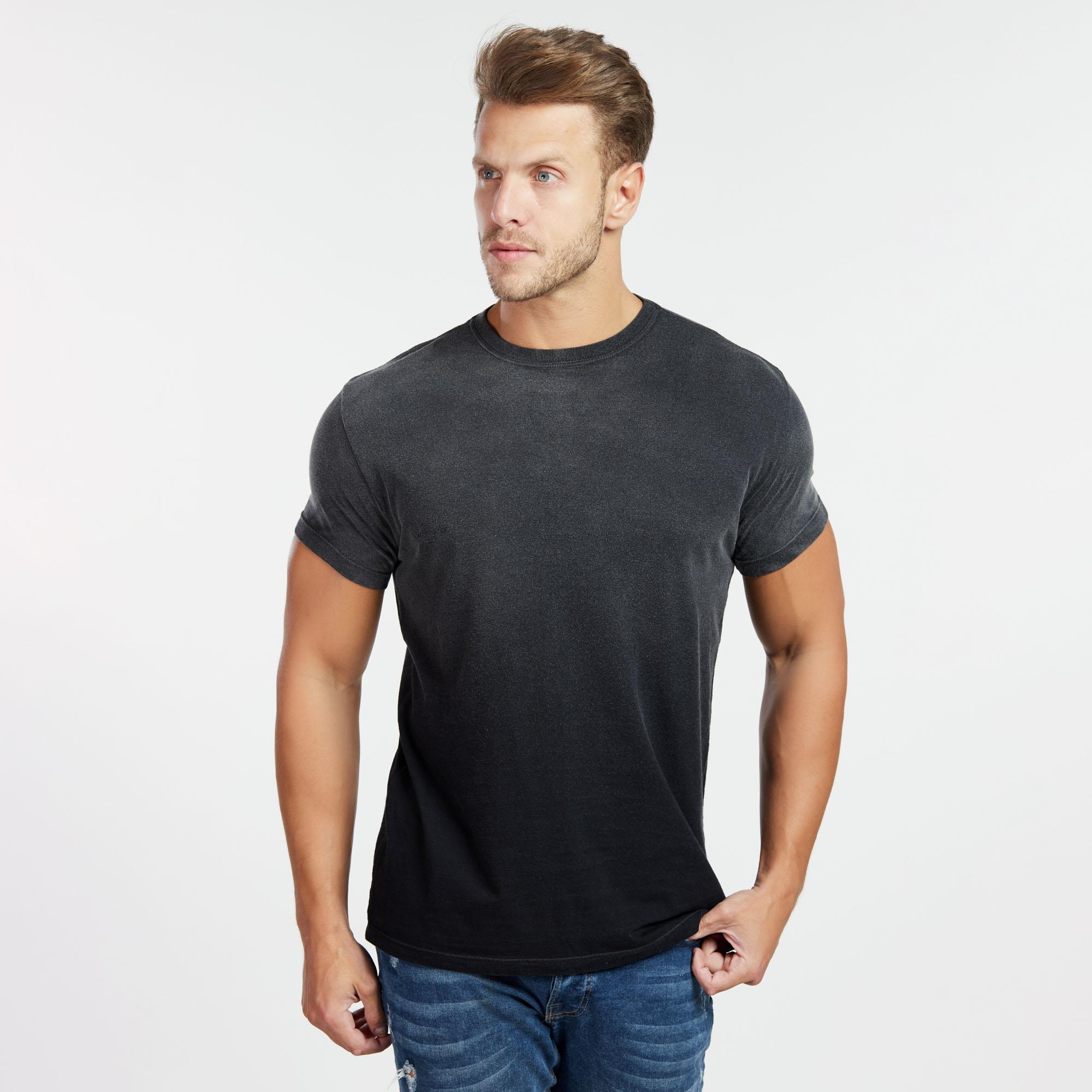 Camiseta Masculina Used Superior Preta