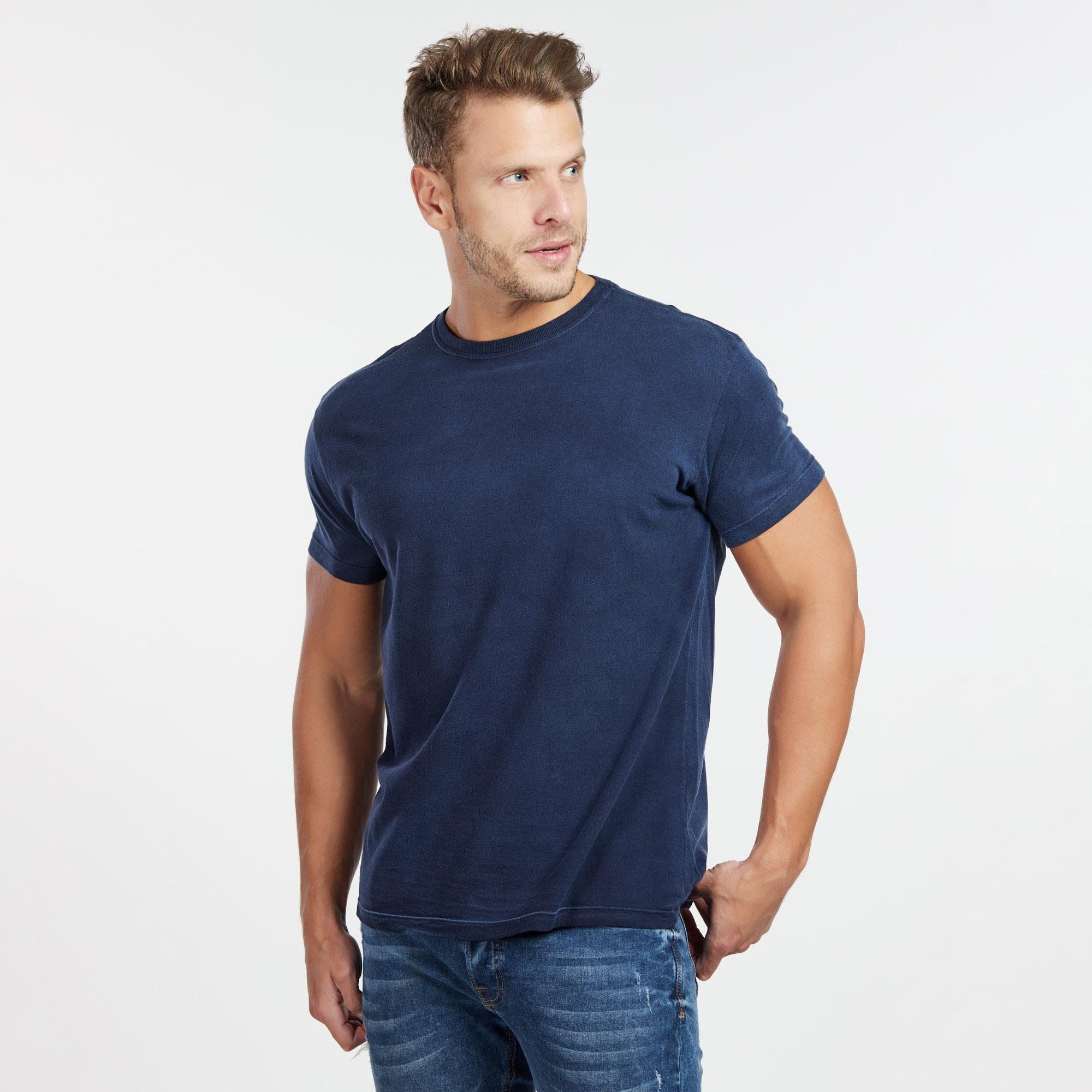 Camiseta Masculina Used Total Marinho