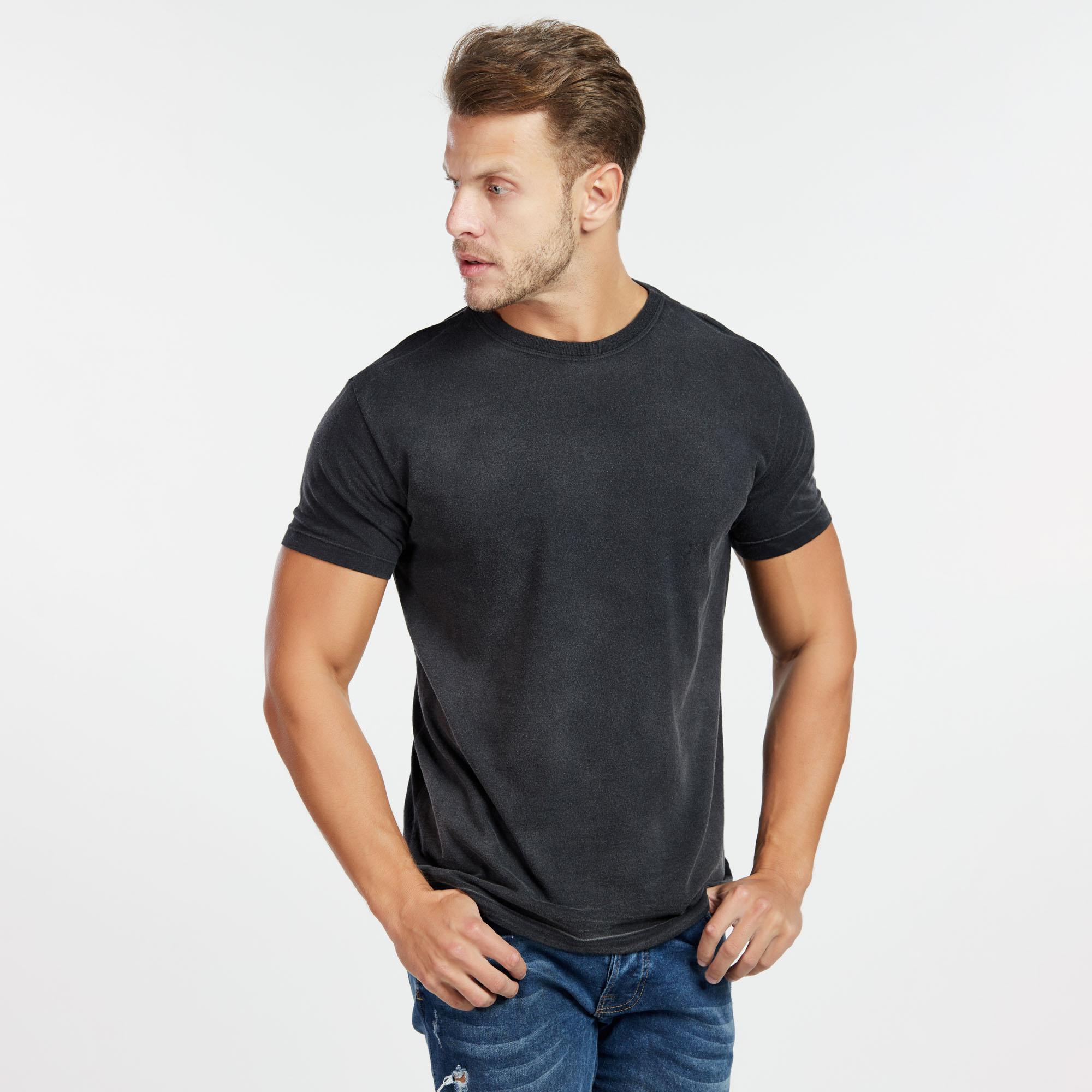 Camiseta Masculina Used Total Preta