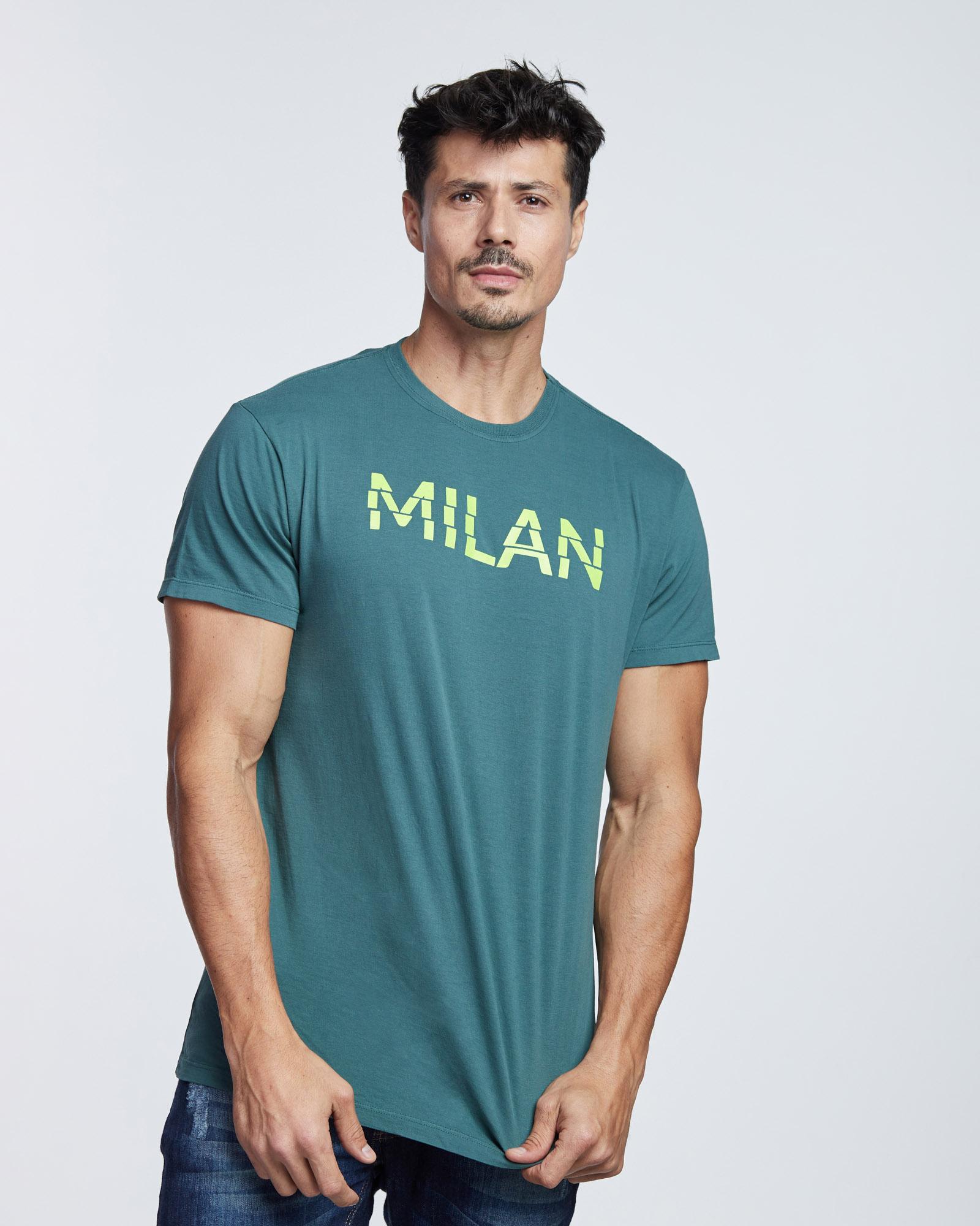 Camiseta Milan Masculina Evolvee