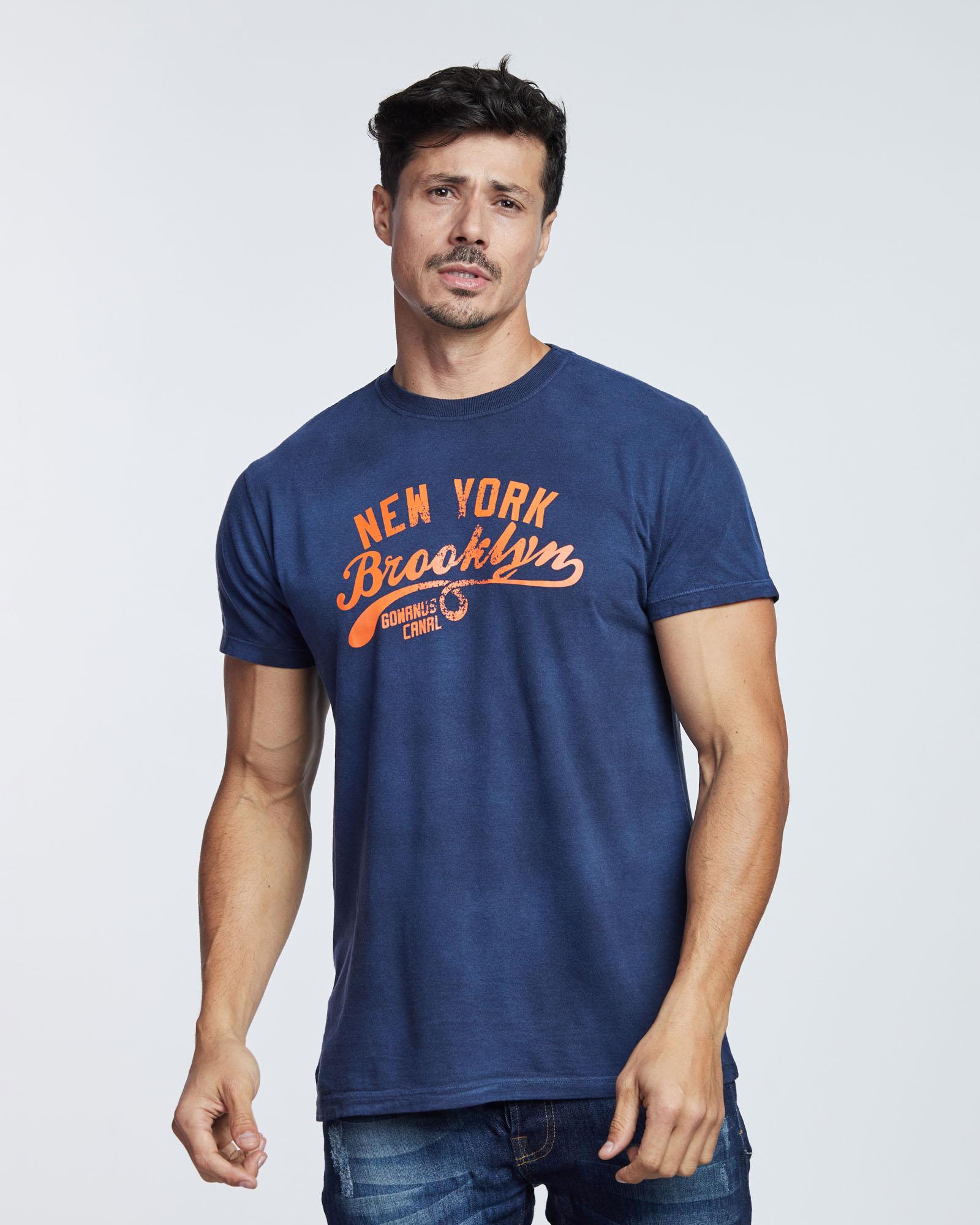 Camiseta New York Brooklyn Masculina Evolvee