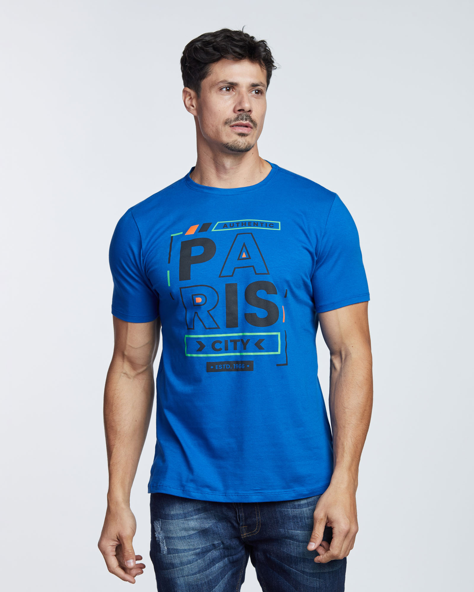 Camiseta Paris City Masculina Evolvee