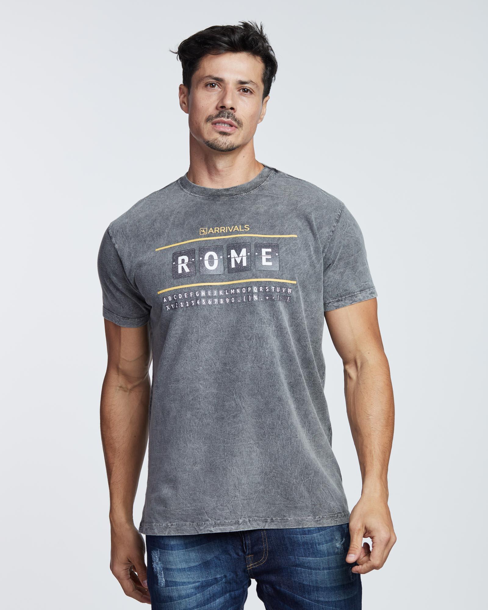 Camiseta Rome Dep Masculina Evolvee