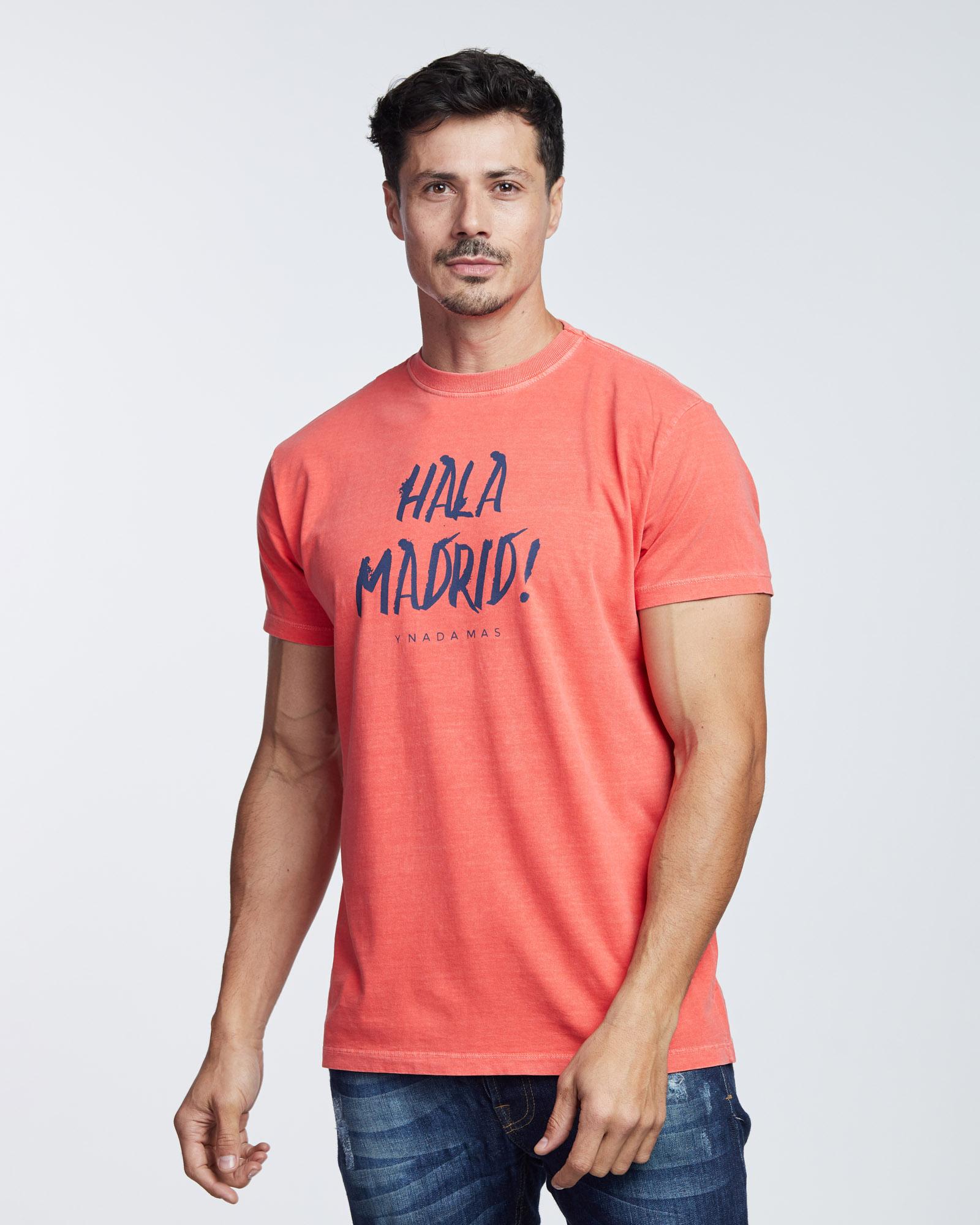 Camiseta Stone Hala Madrid Masculina Evolvee