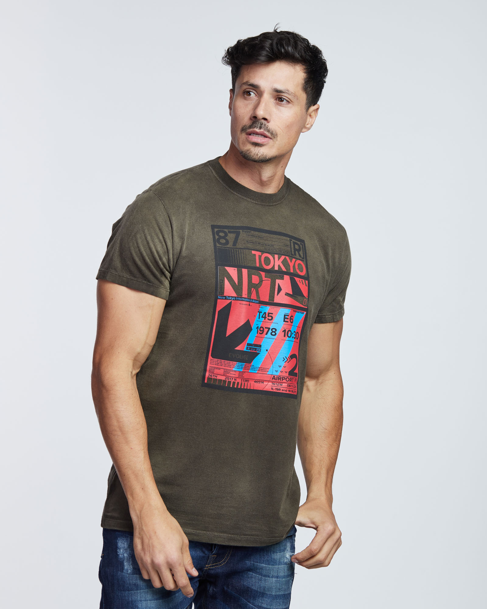 Camiseta Tokyo NRT Masculina Evolvee
