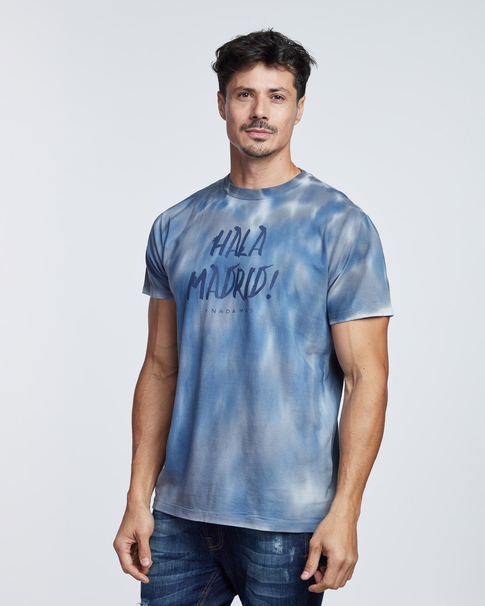 Camiseta Tyedye Hala Madrid Masculina Evolvee