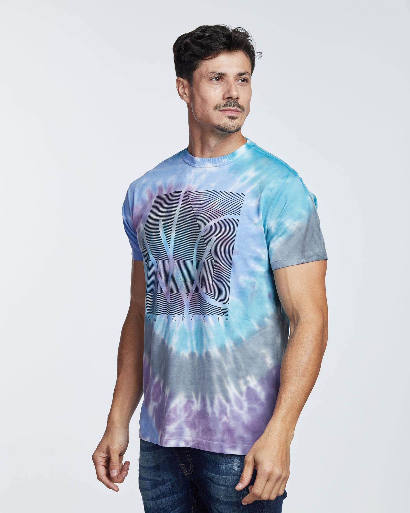 Camiseta Tyedye NYC Masculina Evolvee