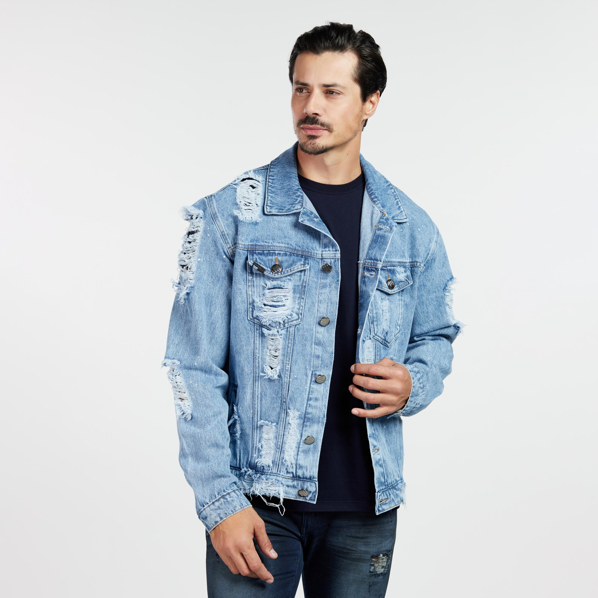 Jaqueta Jeans Premium Stretch Evolvee