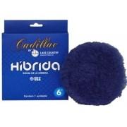 Cadillac Boina Hibrida de Lã azul Corte Velcro 6 Polegadas