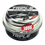 Autoamerica Cera Triple Paste Wax  - Cera de Carnaúba em Pasta  300g