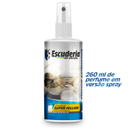 Escuderia Do Brasil Perfume Automotivo Spray fragrância Super Million 260ml