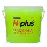 Gel Desengraxante H-plus Tradicioanl 3Kg - Sem Micro Esferas