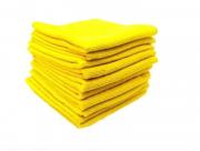 Kit Detailer Pano de microfibra Amarelo 230 Gms 38x38cm ( 10Un)