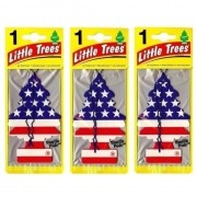 Kit Little Trees Vanilla Pride Aromatizantes Pinheirinho (3 Un)