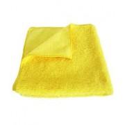 Pano de Microfibra Detailer  Amarelo S /Costura  37x57cm  330gsm (Un)