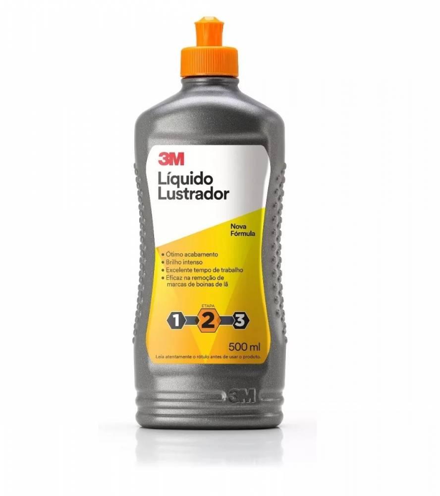 3M Liquido Lustrador Preto Gold 500ml