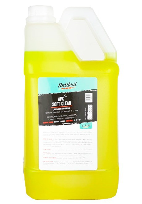 Rotibril APC Limpa Interiores Soft Clean (5lts)