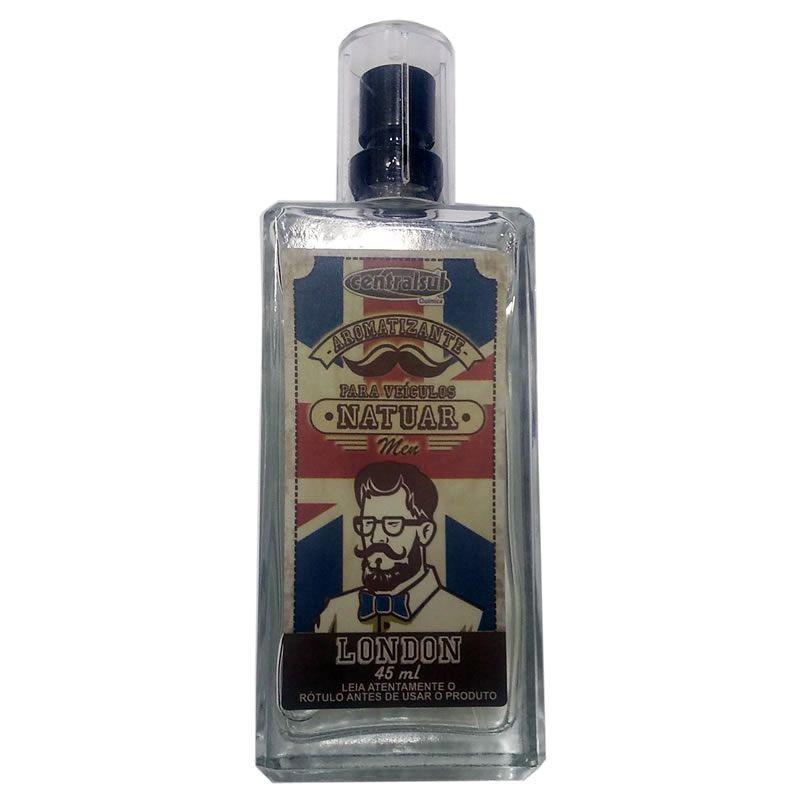 Central Sul Aromatizante Spray Natuar Men London 45ml (Un)