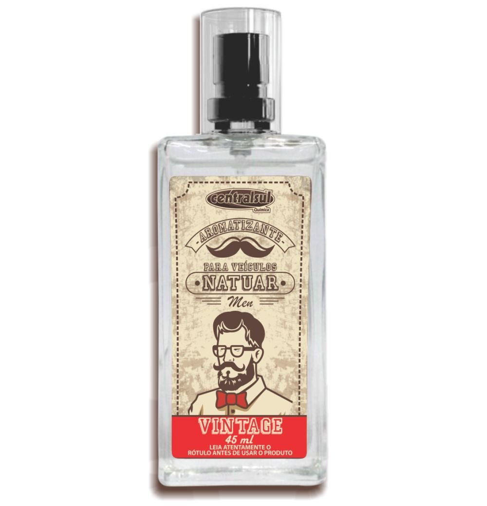 Aromatizante Spray Natuar Men Vintage Central Sul 45ml (Un)
