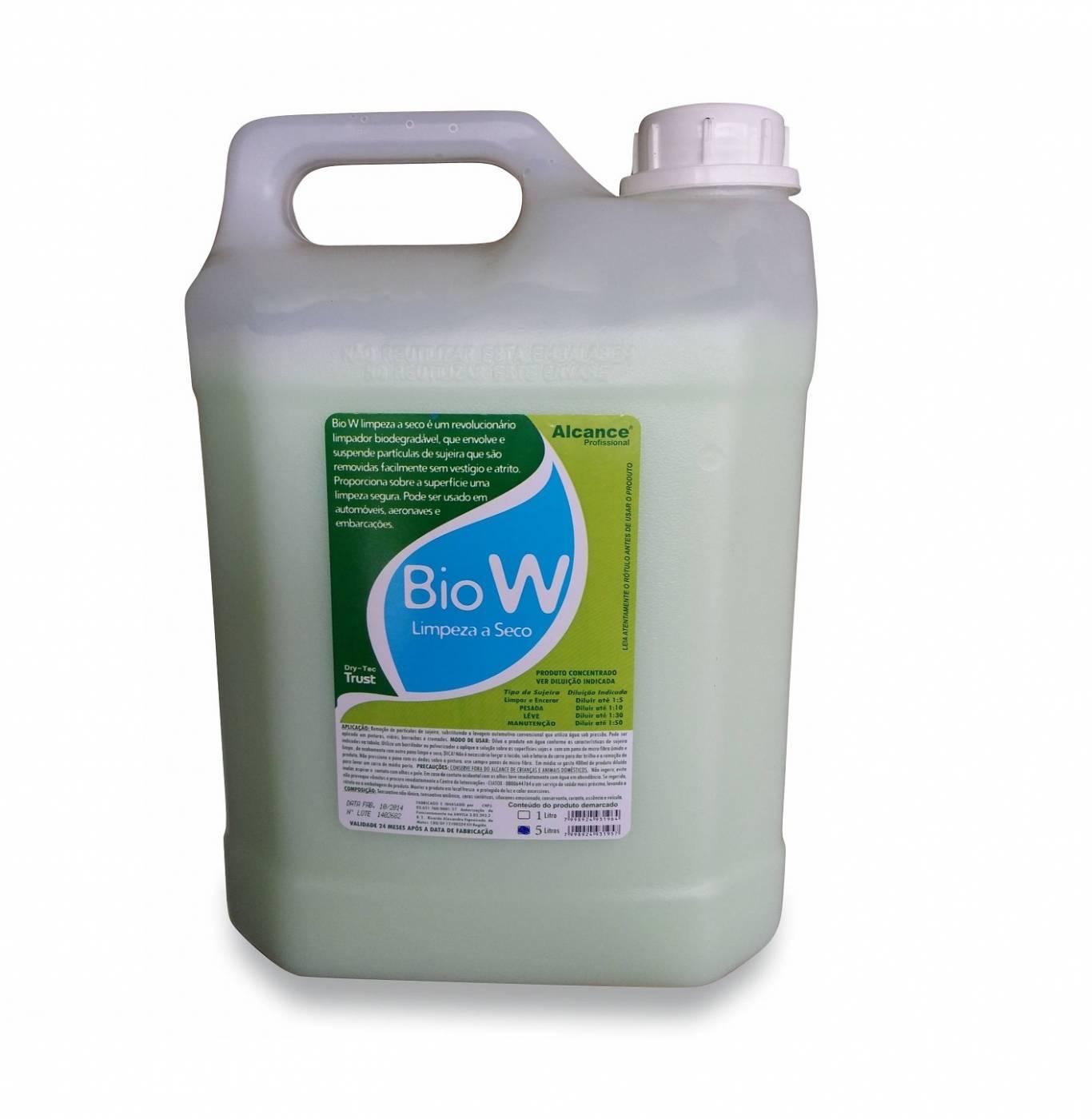 Alcance Bio W Limpeza a Seco Concentrado Biodegradável 5lt