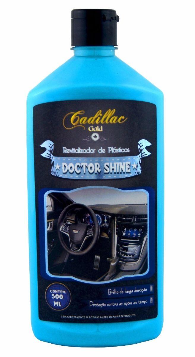 Cadillac Doctor Shine Revitalizador de Plásticos 500ml