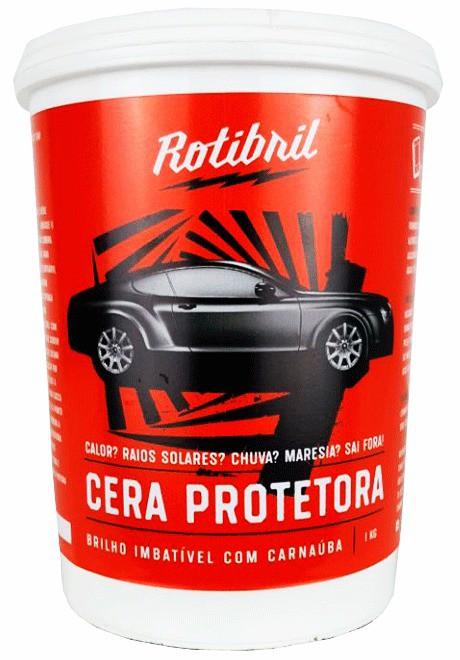 Rotibril Cera de Carnaúba Pasta 1Kg