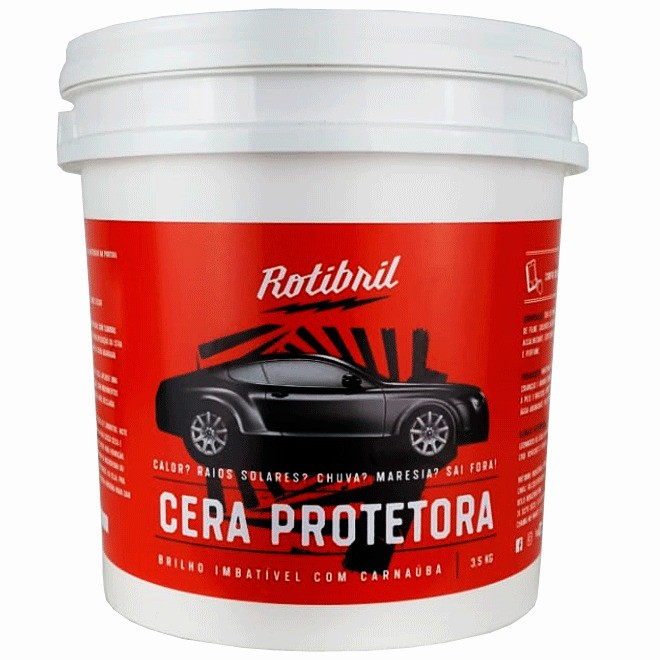 Rotibril Cera de Carnaúba Pasta 3.5Kg