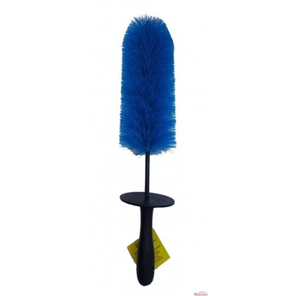 Detailer Escova Furo de Rodas Azul