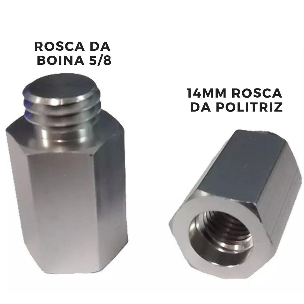 Detailer Parafuso Adaptador de Aluminium para Boinas 5/8 (Un)