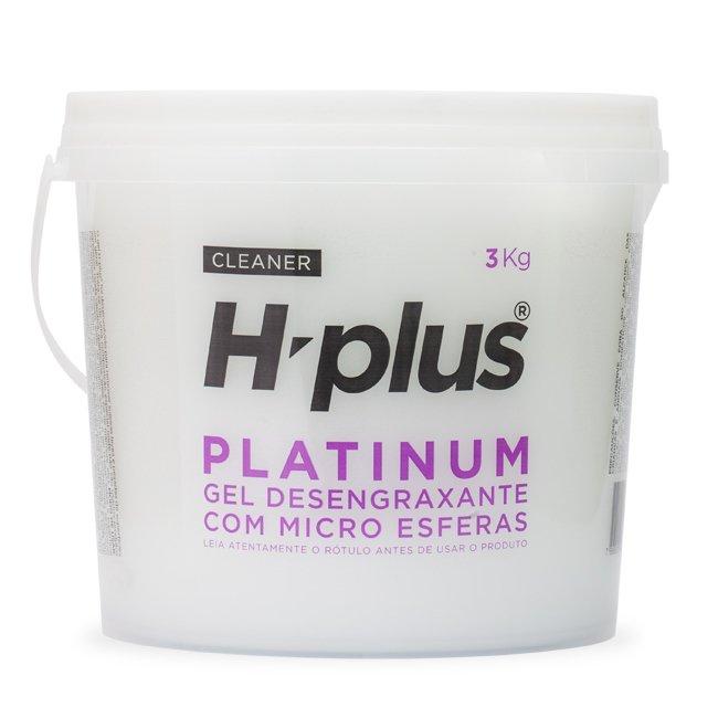 Gel Desengraxante H-plus Platinum 3Kg - Com Micro Esferas
