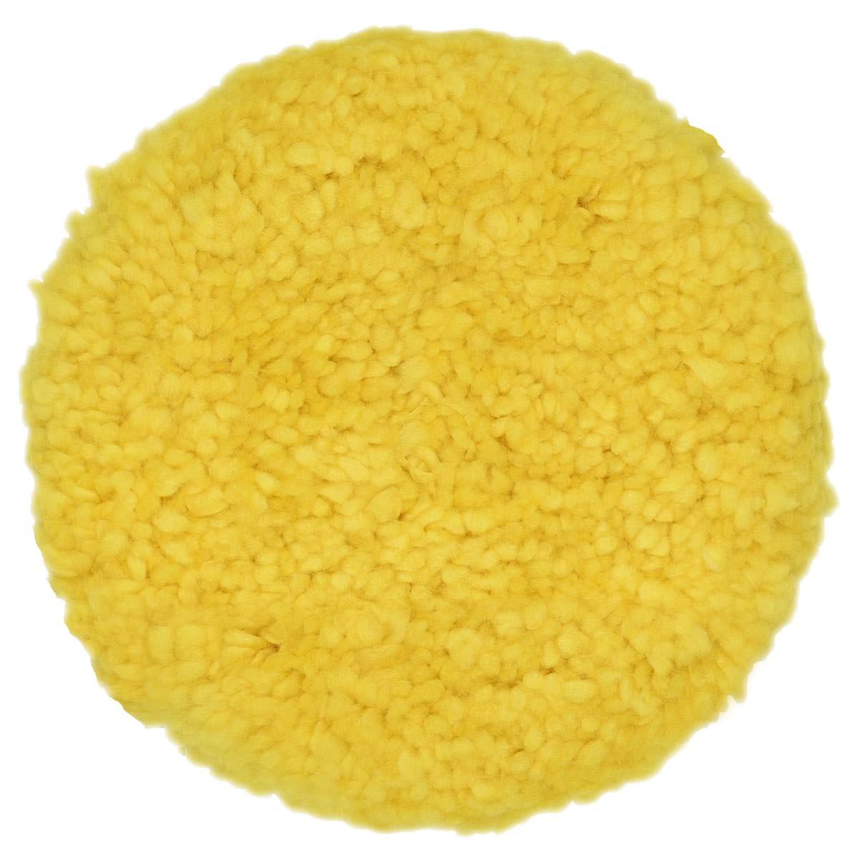 GK Boina de Lã Amarela Dupla Face 8 Polegadas
