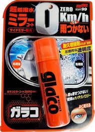 Soft99 Glaco Zero Ultra Repelente de Chuva Para Retrovisores e Câmera de Ré 40ml