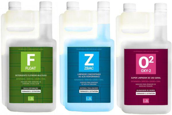 Kit Easytech Higienização de Couro e Tecidos 1,2L