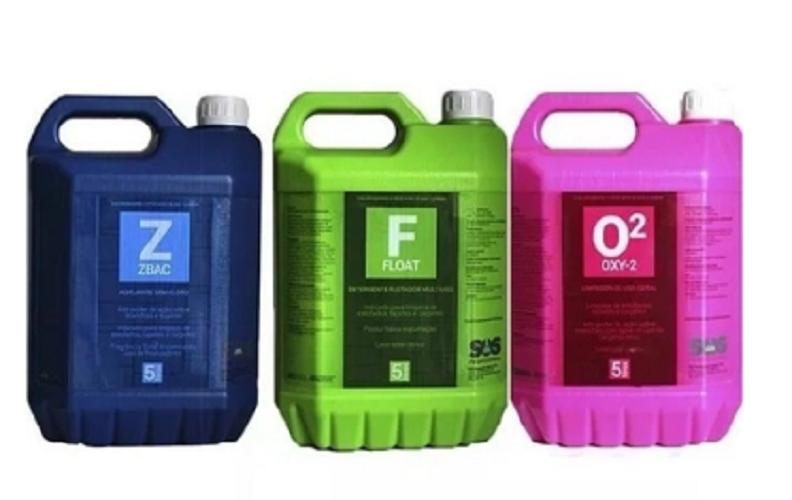 Kit Easytech Limpeza é Higienização de Couro e Tecidos 5L