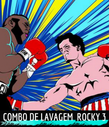 Kit LImpeza Automotiva Rocky 3