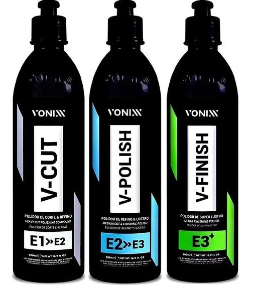Kit Vonixx Polimento VHP 500Ml