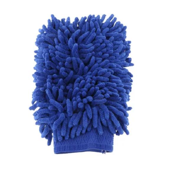 Luva De Microfibra Duplo Tentáculos Azul 28x21cm