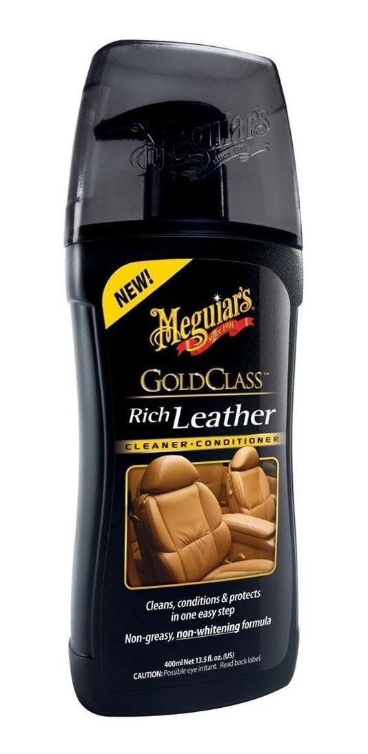 Meguiars Hidratante de Couro Gold Glass 400ml