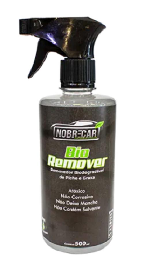 Nobre Car Bio Remover 500mL - Removedor de Piche, Graxa e Incrustado de Faixa Branca de Pneu