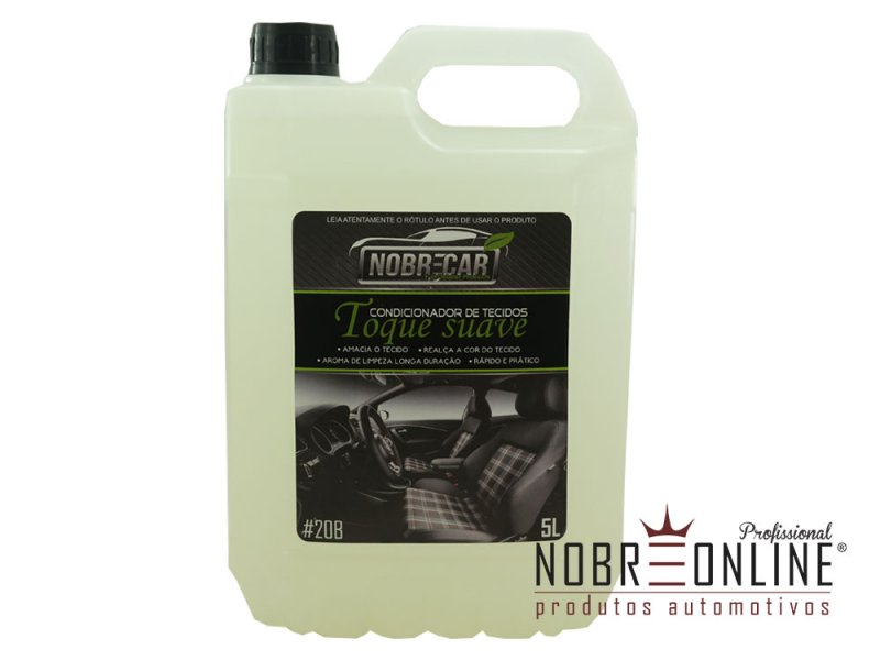 Nobre Car Toque Suave Condicionador de Tecidos 5L