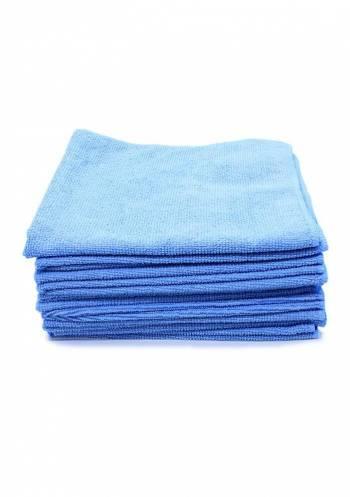 Detailer Pano de microfibra  S/ Costura Azul 230 Gms 37x57cm (20 Un)