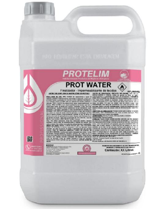 Protelim Impermeabilizante de Tecidos a Base de Solvente Prot Water 5lts