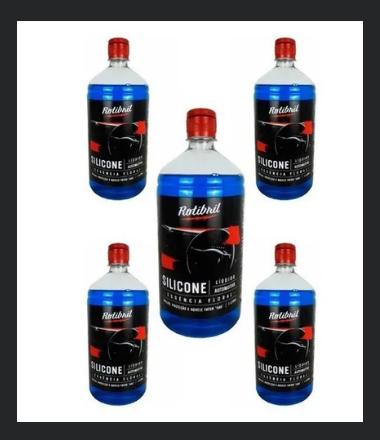 Rotibril Silicone Líquido Automotivo - Essência Floral (5lt)