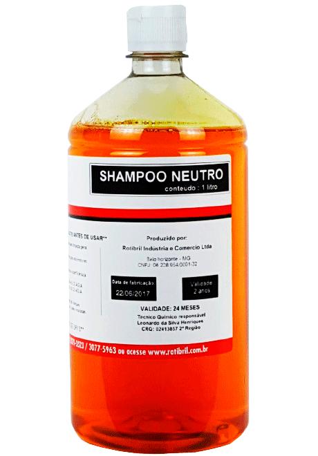 Rotibril Shampoo Neutro Rotibril 1 Litro