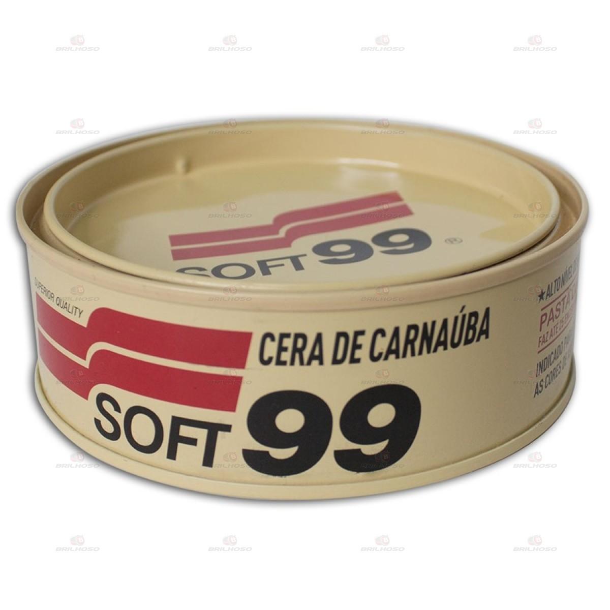 Soft99 Cera de Carnaúba All Colors 100g